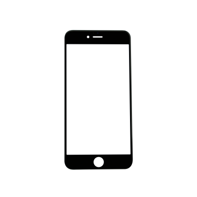 iPhone 6s Plus Glass Lens Screen - Black