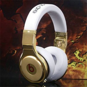 Beats By Dr Dre Pro High Performance 24K Headphones White