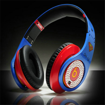 Beats By Dr Dre Studio Over-Ear Super Man with Diamond Headphones