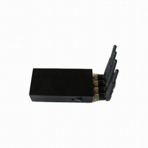 Portable High Power 4W Mobile phone signal Jammer (CDMA,GSM,DCS,PHS,3G)