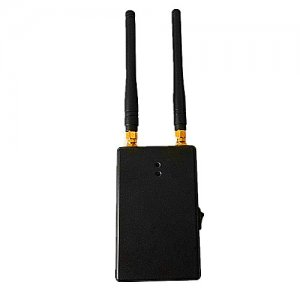 Portable Dual Band 315MHz 433MHz Car Remote Control Jammer with 100 Meters Range