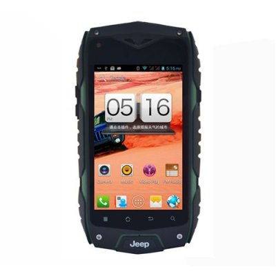 Z6+ Smartphone Outdoor Sports IP68 Waterproof MTK6582 Quad Core Android 11.0 3G GPS - Green