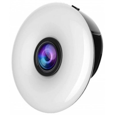 New LED Fill Light Phone Lens Wide-Angle Beauty Selfie Fill Light - BLACK