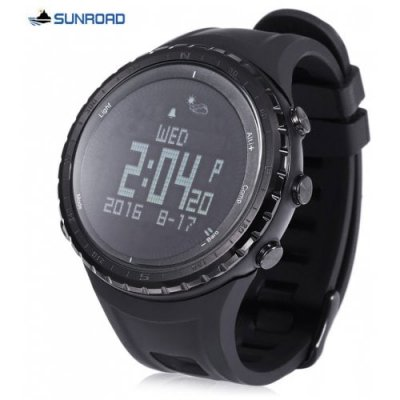 SUNROAD FR803 Sports Smart Watch - BLACK