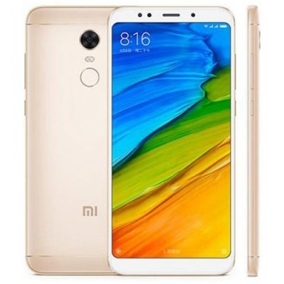 Xiaomi Redmi 5 Plus Global Version 4G Phablet - GOLDEN