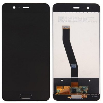 LCD Screen Digitizer Full Assembly Black for Huawei P10 - BLACK