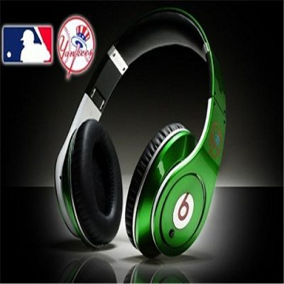 Beats By Dre Studio MLB Edition Headphones New York Yankees Green