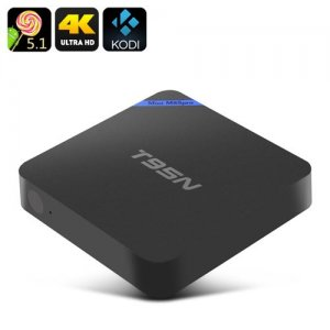T95N-Mini M8Spro Android TV Box - 4K, Amlogic S905 Quad Core CPU, Bluetooth 4.0, Kodi, HDMI, 2GB RAM + 8GB Memory