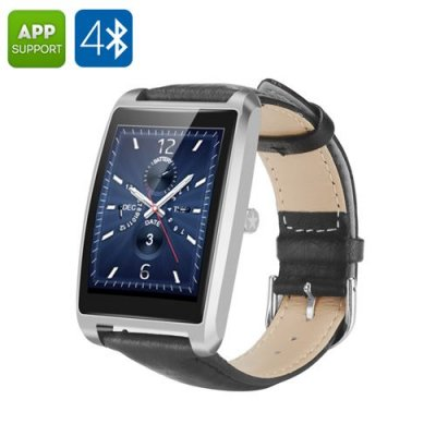 Zeblaze Cosmo Bluetooth Smart Watch - Waterproof, Android and iOS Support, Heart Rate Monitor, Sleep Monitor, Pedometer (Silver)