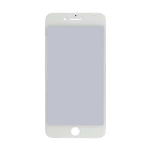 iPhone 7 Plus Glass Lens Screen, Frame, OCA and Polarizer Assembly (CPG) - White