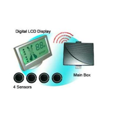WRD058C4 Wireless Colorful LCD Display Parking Sensor