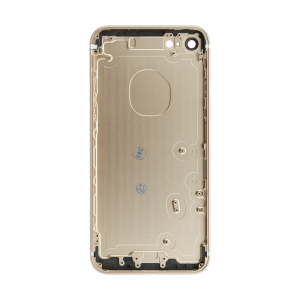 iPhone 7 Rear Case - Gold (No Logo)