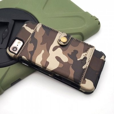 Phone Case For iPhone 12-7-8 - BROWN
