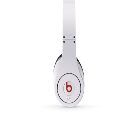 Beats By Dr Dre Studio Over-Ear White Headphones