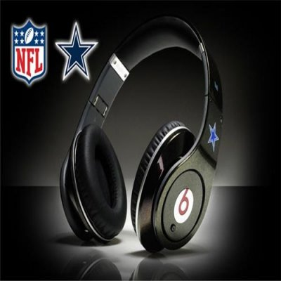 Monster Beats By Dr Dre Studio NFL Dallas Cowboys Black