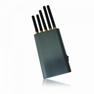 Handheld Cell Phone & WiFi & GPS Jammer