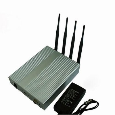4W Powerful All WiFI Signals Jammer (2.4G,5.8G)