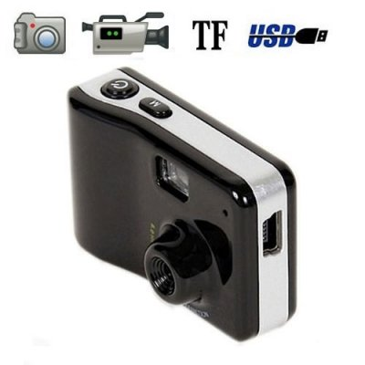 Special Shape HD Mini DVR Support Web Camera + Video + Motion Detector