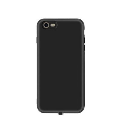 Multi-function Wireless Charging Receiver Case for iPhone 7 - BLACK