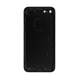 iPhone 7 Rear Case - Black (No Logo)