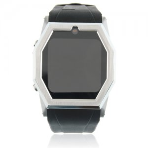 TW520 Quad Band Java Bluetooth Camera 1.5 Inch Touch Screen Cellphone Watch Phone-Black
