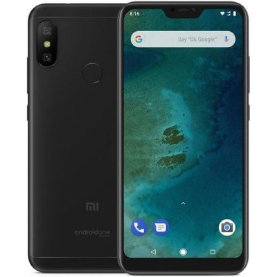 Xiaomi Mi A2 Lite Global Version 4G Phablet - BLACK