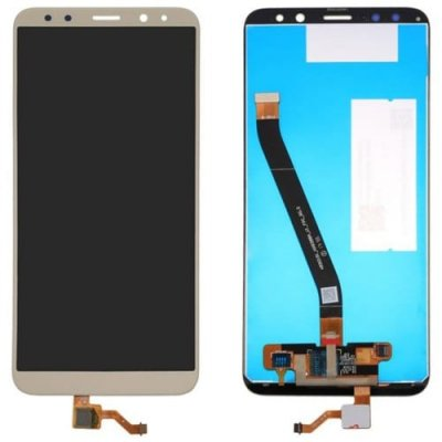 LCD Phone Touch Screen Replacement Digitizer Display Assembly for Huawei Mate 10 Lite - CHAMPAGNE GOLD