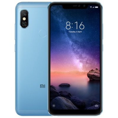 Xiaomi Redmi Note 6 Pro 4G Phablet Global Version 3GB RAM - DENIM BLUE