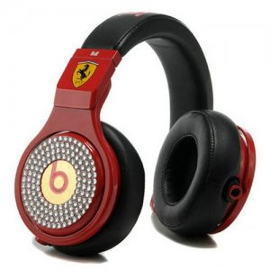Beats By Dr Dre Pro High Performance Ferrari Diamond Headphones