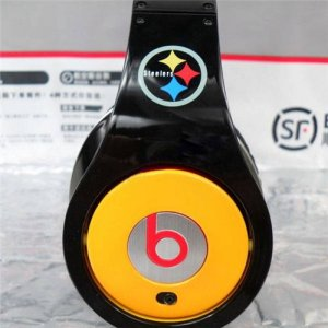 Beats By Dr Dre Studio Pittsburgh Steelers Team Over-Ear Headphones