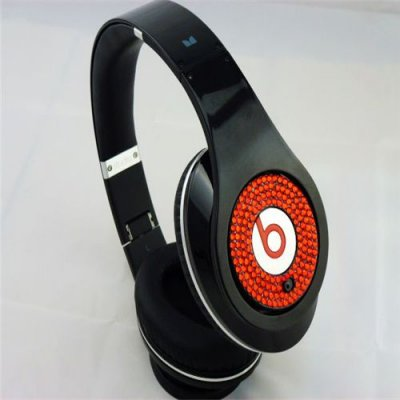 Beats Studio Headphones Black With Red Diamond Edition