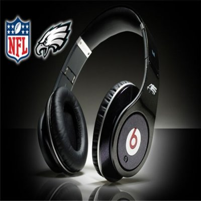 Monster Beats By Dr Dre Studio NFL Atlanta Falcons Black