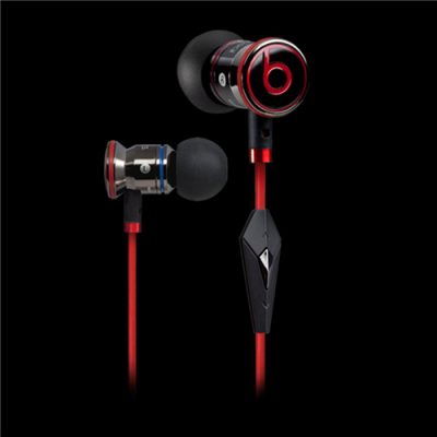 Beats By Dr Dre iBeats Black Headphones with Control-Talk
