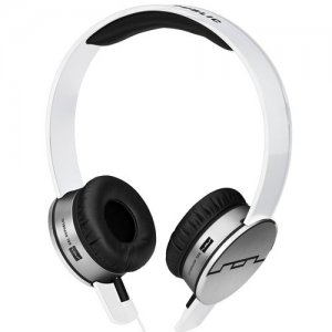 Sol Republic Tracks On-Ear Headphones with Remote and Mic - White