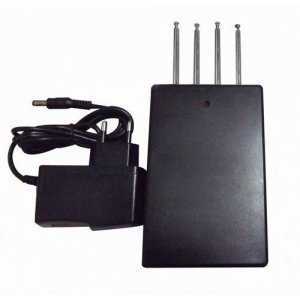 Quad band Car Remote Control Jammer (270MHZ/ 315MHz/ 418MHZ/433MHz,50 meters)
