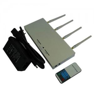 Mobile Phone Jammer - 10m to 30m Shielding Radius - with Remote Controller