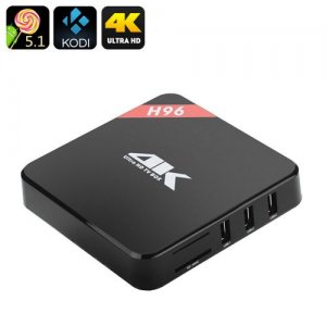 Android 11.0 TV Box - 4Kx2K, Quad Core Amlogic S905 CPU, Wi-Fi, DLNA, Miracast, Airplay, Kodi 15.2