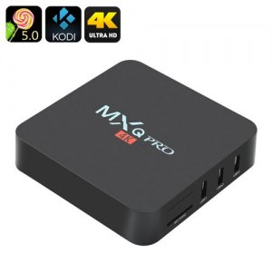 MXQ Pro 4K Ultra HD TV Box - KODI, Android 11.0, 64Bit Amlogic S905 Quad Core, H.265 4K Decoding