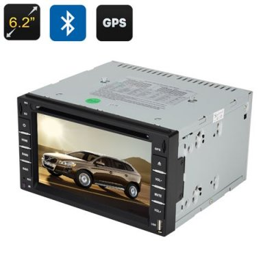 2 DIN 6 2 Inch Universal Car DVD Player - Windows CE 6 0 OS, 800x480