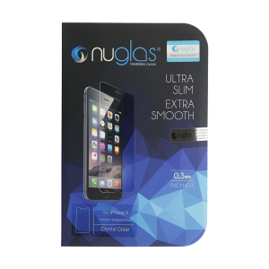 NuGlas Tempered Glass Screen Protector for iPhone X/XS (2.5D)