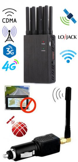 Blocking mobile phones , 15W High Power 6 Antenna Cell Phone,WiFi,3G,UHF Jammer