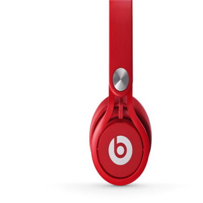 Beats By Dr Dre Mixr Over-Ear Red Headphones