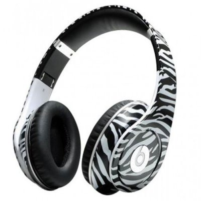 Beats By Dr. Dre Studio Zebra Stripe Limited Edition Over-Ear Headphones