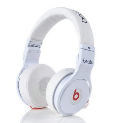 Beats By Dr Dre Pro Mini Headphones White
