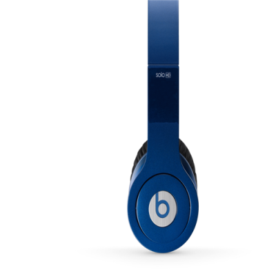 Beats By Dr Dre Solo High Definition Over-Ear Dark Blue Headphones