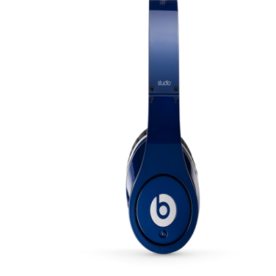 Beats by Dr Dre Studio Over-Ear Blue Headphones