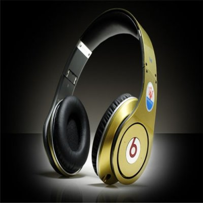 Maserati Beats By Dr Dre Studio Headphones Gold Black