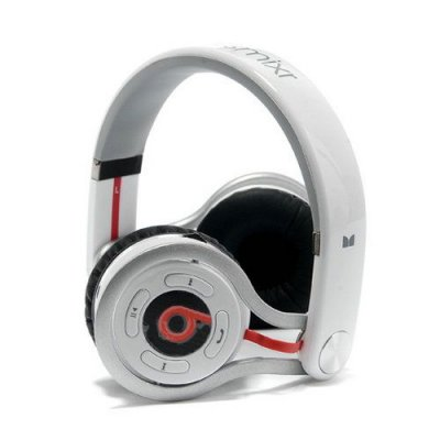 Beats By Dr Dre Mixr Wireless Bluetooth Headphones white