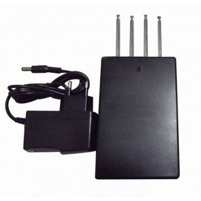 High Power Car Remote Control Jammer (270MHZ/ 315MHz/ 390MHZ/433MHz, 50 meters)