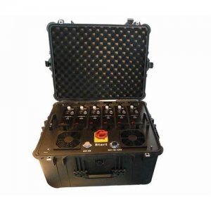 Portable Multi Band High Power VHF UHF Jammer for Military and VIP Vehicle Convoy Protection